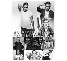Sammy Adams - All Night Longer Collage Poster