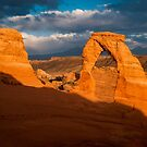 Delicate Arch by Sam Scholes