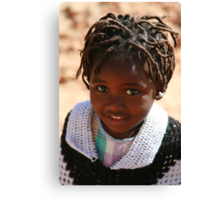 African Child Canvas Print