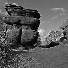 The Idol - Brimham Rocks by Weirdfish695
