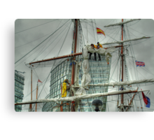 Tall Ships' Race: Liverpool 2008 -4 Canvas Print