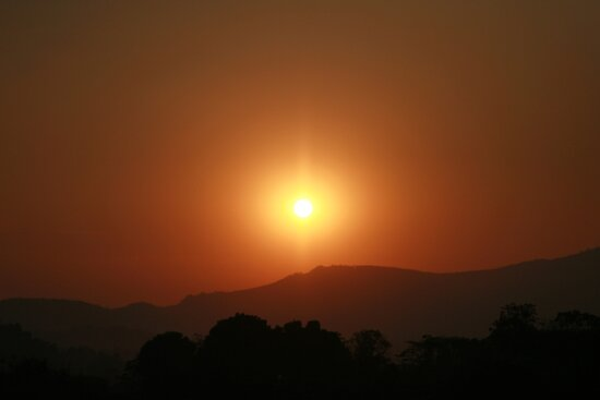 Africa Sunset by Matthew Duke