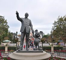 Walt and Mickey by hilarydewitt