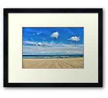 Lake Huron - Oscoda Beach, Michigan Framed Print