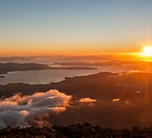Hobart Summer Sunrise by 59Photography