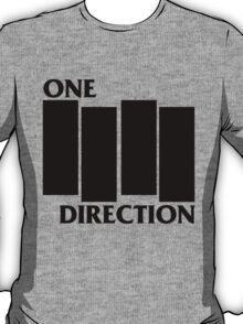 ONE DIRECTION X BLACK FLAG T-Shirt