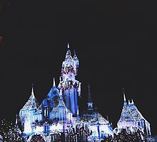 Disneyland Castle  by whitneymicaela