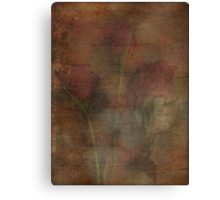 Elegant Roses Textured Love and Romance Series Canvas Print