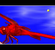 Red Dragonfly by George  Link