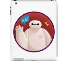 Adorable Robot says Hello! iPad Case/Skin