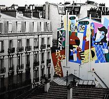 Montparnasse Mural by JimFilmer