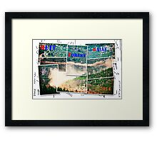 Forest Rally Framed Print