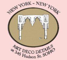 NYC building details 3 - SOHO Art Deco Kids Clothes