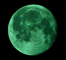 300mm Green moon by yusstay