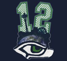 Seahawks 12th Man (SSH-000001) by EngDesigns