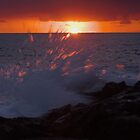 Sunset Splash by James Deverich