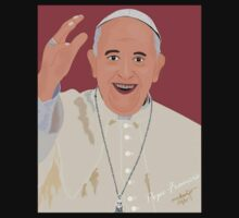 Pope Francis by rajhe