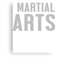 Burn Off The Crazy Martial Arts T-shirt Canvas Print