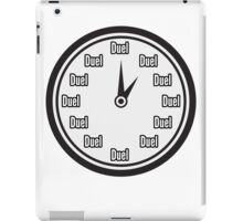 It's time to Duel! iPad Case/Skin