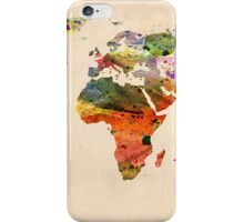 map iPhone Case/Skin