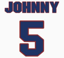 National baseball player Johnny Paredes jersey 5 by imsport