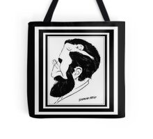 What's On A Man's Mind Tote Bag