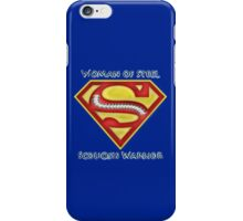 Woman of Steel - Scoliosis Awareness iPhone Case/Skin