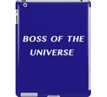 Boss of the Universe iPad Case/Skin
