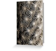 Spiked. Greeting Card