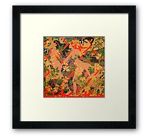 Diana, Minerva and Vesta Framed Print