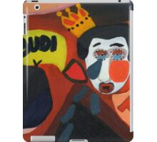 Be there or... iPad Case/Skin