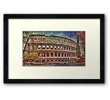 Colosseum Rome Framed Print