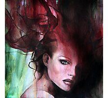 fiery medusa Photographic Print