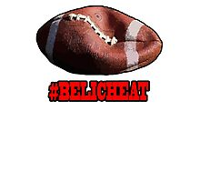 DEFLATEGATE - Official Game Ball of the New England Patriots Photographic Print