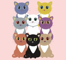 Only Eight Cats Kids Clothes