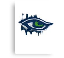 Seahawks Eye (SSH-000006) Canvas Print