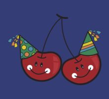 Cheeky Party Cherries! T-shirt by fatfatin