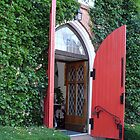 Red Door by artgoddess