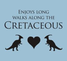 Enjoys Long Walks Along The Cretaceous Kids Clothes