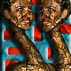 the Cubist Twins by GolemAura