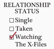 Relationship Status - Watching The X-Files by A-Starry-Night