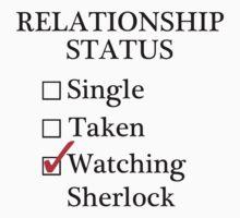 Relationship Status - Watching Sherlock & Watson by A-Starry-Night
