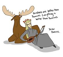 Reindeer are better than Dwarves by curioscurio
