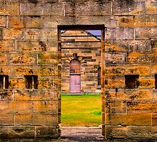 Framed - Cockatoo Island - The HDR Series by Philip Johnson