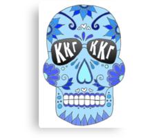 Kappa Sugar Skull Canvas Print