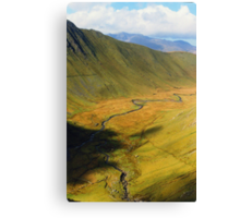 The Ruined Village Canvas Print
