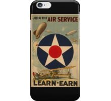 Air Service (Reproduction) iPhone Case/Skin