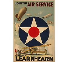 Air Service (Reproduction) Photographic Print