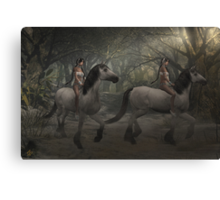 Ride Out of Darkness Canvas Print