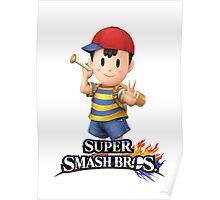 Super Smash Bros. 3DS/Wii U Ness Poster